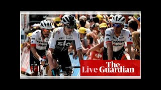 Tour de France 2018: Froome loses time in crash as Gaviria wins stage one – as it happened