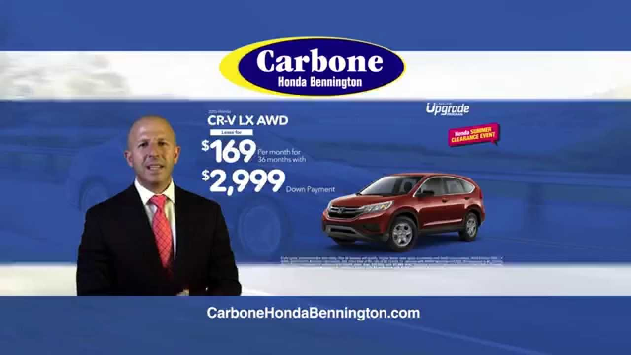 Carbone Honda Bennington August 2015