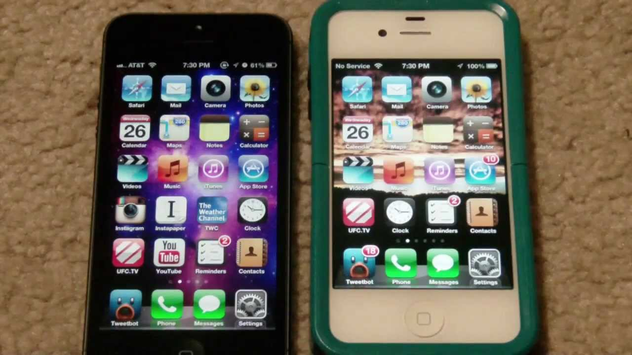 iphone 5s size iphone 5 vs 4s screen size difference 11249