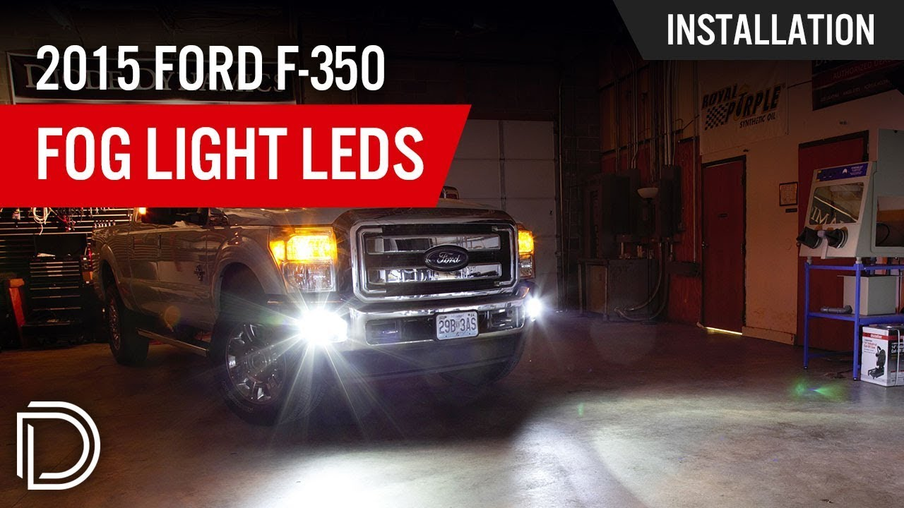 How To Install 2015 Ford F 350 Fog Lights Youtube Wiring Instructions For