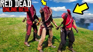 SECRET NO HEAD GLITCH in Red Dead Online! RDR2 Online Funny Moments