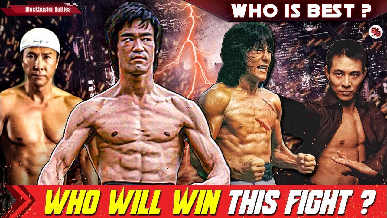 Download Bruce Lee Vs Jackie Chan Vs Donnie Yen Vs Jet Li Fight Who Will Won This Fight ? Blockbuster Battles