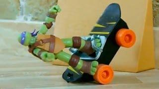 Черепашки Ніндзя 2014 мультфільм з іграшок - пісенька мультклип