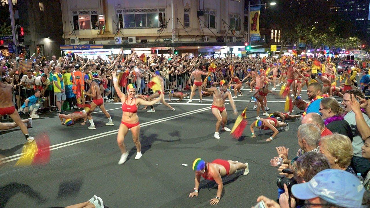 Sydney gay pride parade