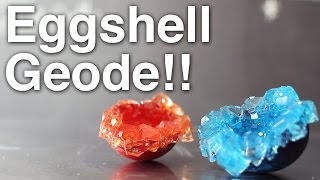 DIY Eggshell Geode!!