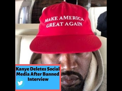 Kanye West Banned Interview Kanye Deletes Social Media Afterwards Mp3
