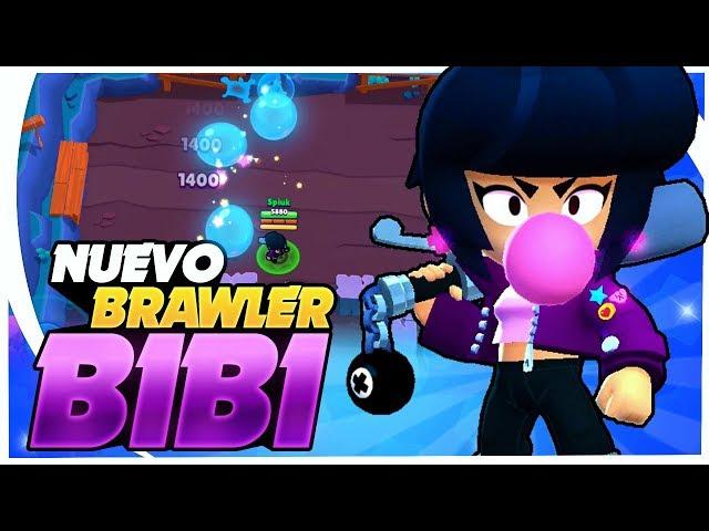 NUEVO BRAWLER BIBI GAMEPLAY ESPAÑOL | MECÁNICAS Y SUPER