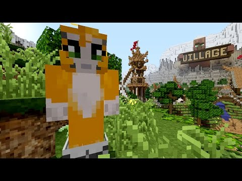 Minecraft Xbox - The Lost Sword - The Village {2}