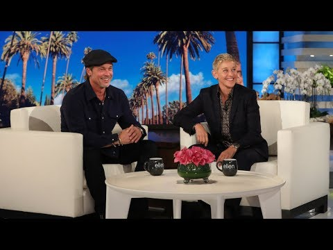 The Joe Show - Ellen Admits To Dating Brad Pitt's Ex