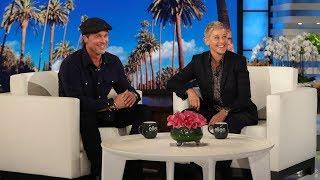 Ellen Reveals She Dated Brad Pitt's Ex-girlfriend