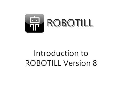 ROBOTILL Version 8