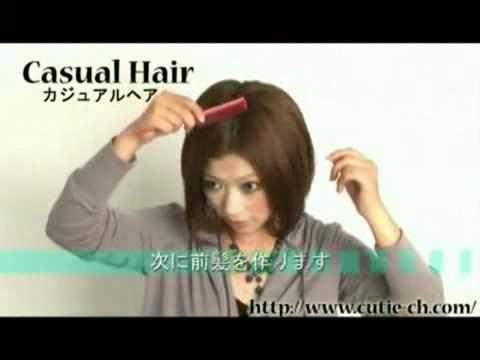 Video làm đẹp  Tết mái cho tóc ngắn   Làm đẹp   Tóc đẹp