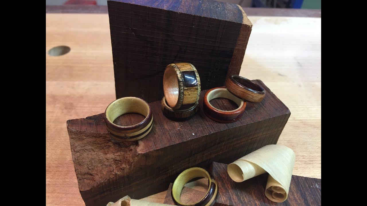 DIY Wood Rings on the Drillpress II