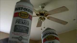 """Ceiling Fan Project from """"golden"""" 90's to today.wmv"""