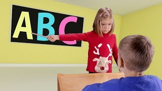 ABC Alphabet Song Nursery Rhymes for Children School Kids Educational learn English