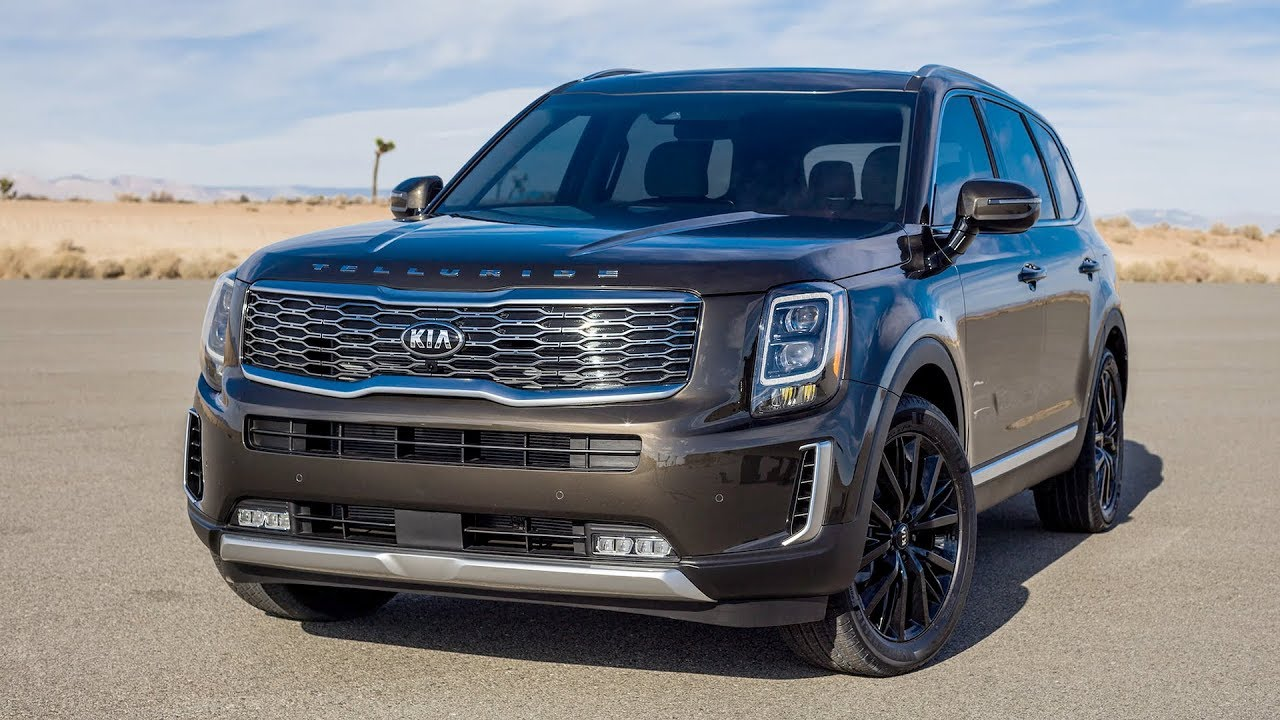 2020 Kia Telluride Exterior Interior Youtube