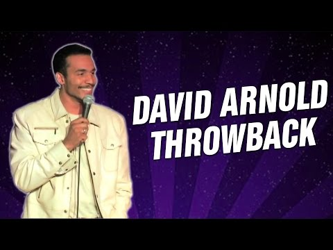 David Arnold Throwback (Stand Up Comedy)