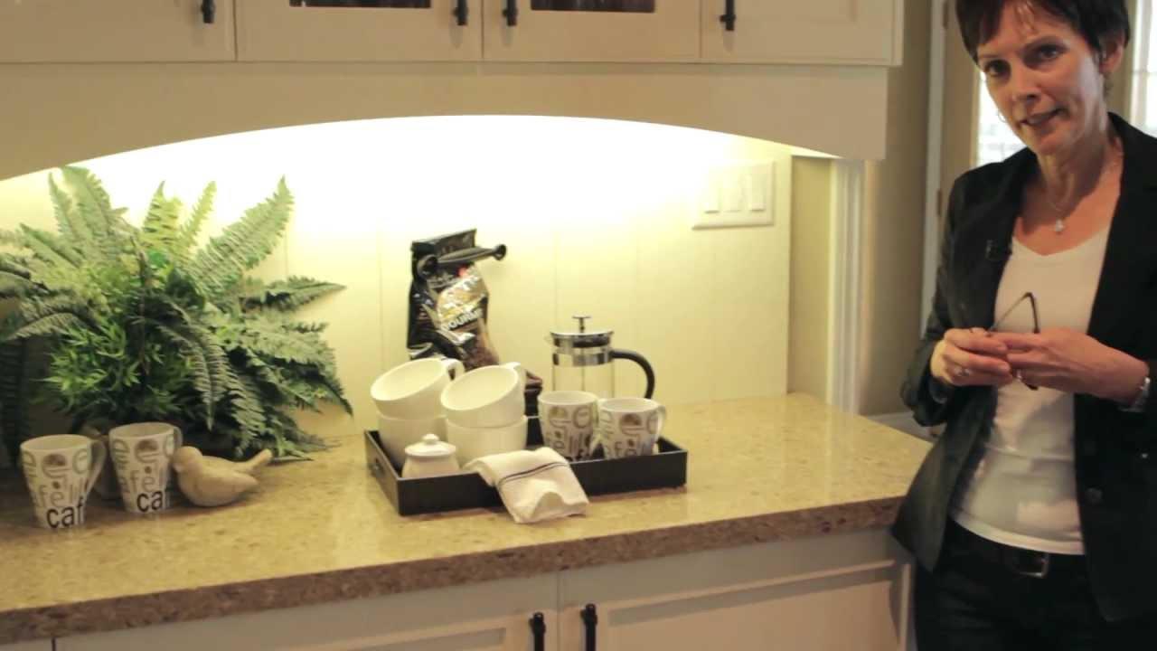 Kitchen Coffee Bar Kitchen Renovation Feat Coffee Bar With Kelly Vandolder