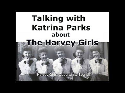 Talking Harvey Girls with Katrina Parks
