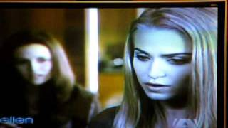 Eclipse Clip on The Ellen Show - Rosalie and Bella!!!