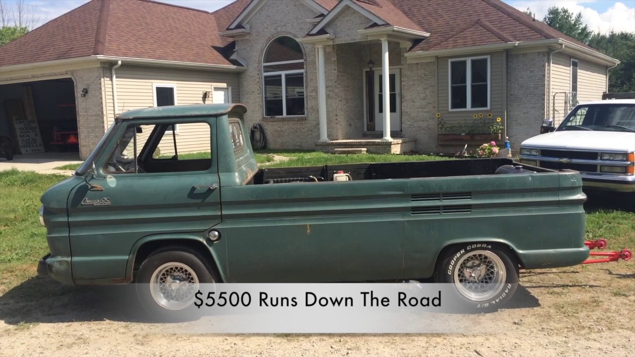 For Sale by Owner 1964 Corvair Pick Up With 350 Chevy Engine for sale