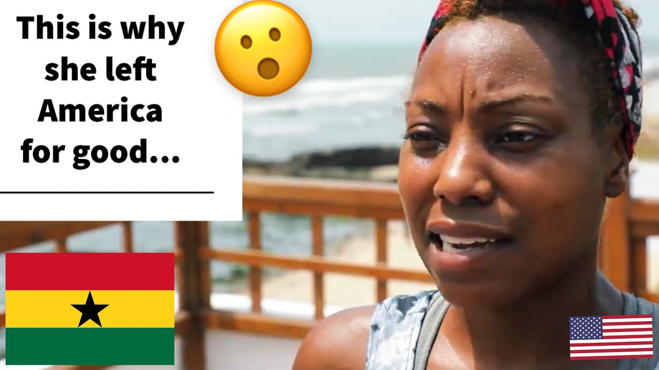 WHY AFRICAN AMERICANS ARE MOVING TO GHANA ??