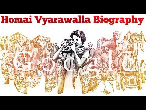Homai Vyarawalla Google Doodle | Homai Vyarawalla was India's first woman photojournalist