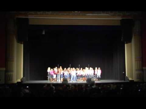 2016 Voices of the (603) A cappella Festival - Sun is Rising - Timberlane Regional Middle School
