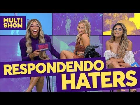 Respondendo Haters  Pabllo Vittar + Luísa Sonza + Lexa  TVZ  Música Multishow