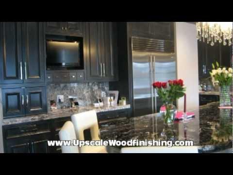 Upscale Kitchen Refinishing Kitchen Cabinet Refinishing In Denver Co