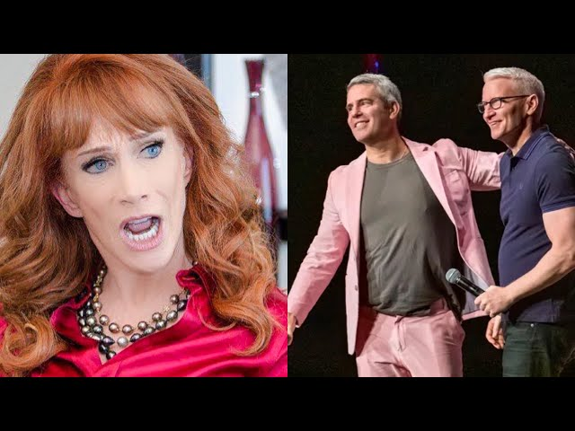 Kathy Griffin Exposing Andy Cohen!