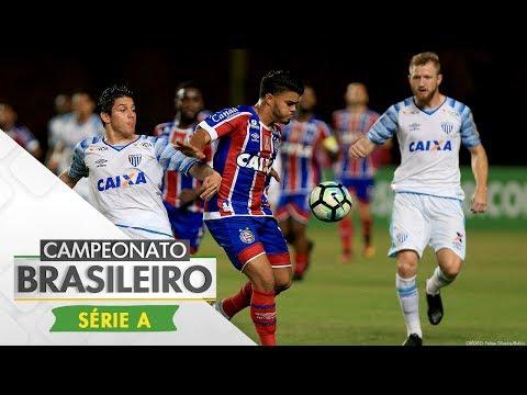 Melhores Momentos - Bahia 1 x 1 Avaí - Série A (16/07/17)