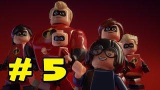 Lego Los Increibles - Walkthrough en Español - Parte 5 - Los años Dorados - 1080p - Sin Comentarios