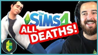 ALL Sims 4 Deaths - TWELVE Different Types