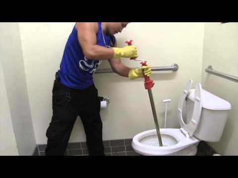 How To Unclog Backed Up Toilet