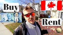 Buying or Renting a House in Canada