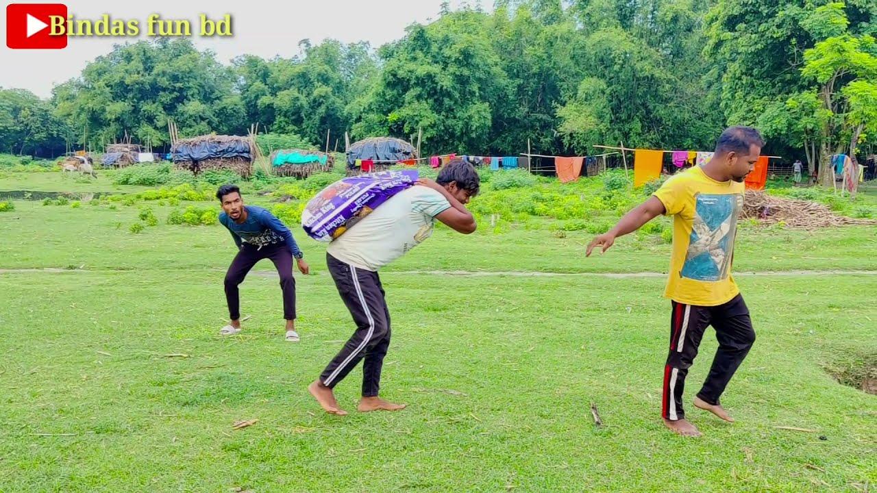 Funniest Amazing Comedy Video 2021 must watch funny video Bindas fun bd