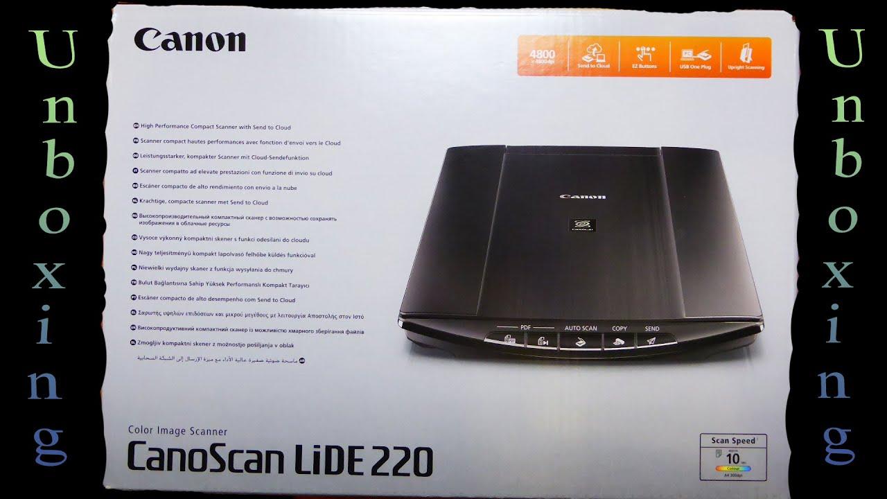 canon lide220