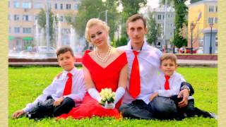 Розовая свадьба Василия и Алины