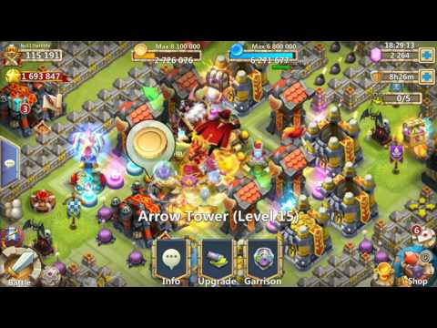 Castle Clash Towers. Which Is The Best?