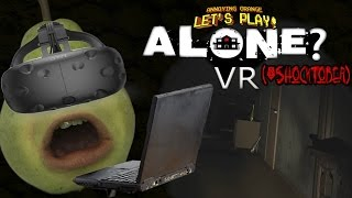 Pear Forced to Play - ALONE? (VR Game) #Shocktober