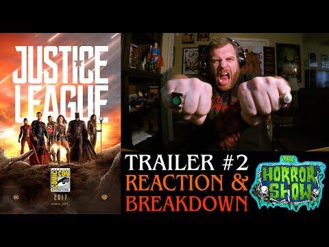 """Justice League"" 2017 SDCC Trailer #2 Reaction - The Horror Show"