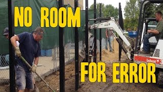 Heavy Equipment on the job- No room for Error