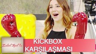 Zuhal Topal'la 35. Bölüm (HD) | Birkan ve Luvrita'dan Stüdyoda  Kickbox Karşılaşması!