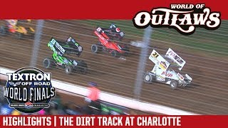 World of Outlaws Sprint Car Series Highlights | The Dirt Track at Charlotte Motor Speedway 11/4/17