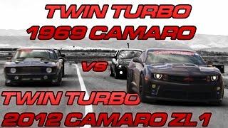 1300hp '12 Camaro vs 1200hp '69 Camaro