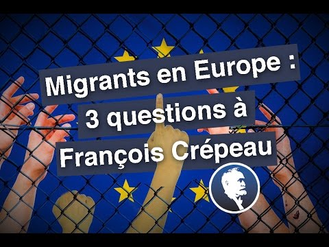 Migrants en Europe : 3 questions à François Crépeau