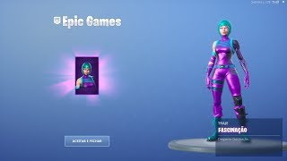"""NEW SKIN """"FASCINATION"""" EXCLUSIVE OF THE PHONE HONOR 20 SERIES PRO! Fortnite"""