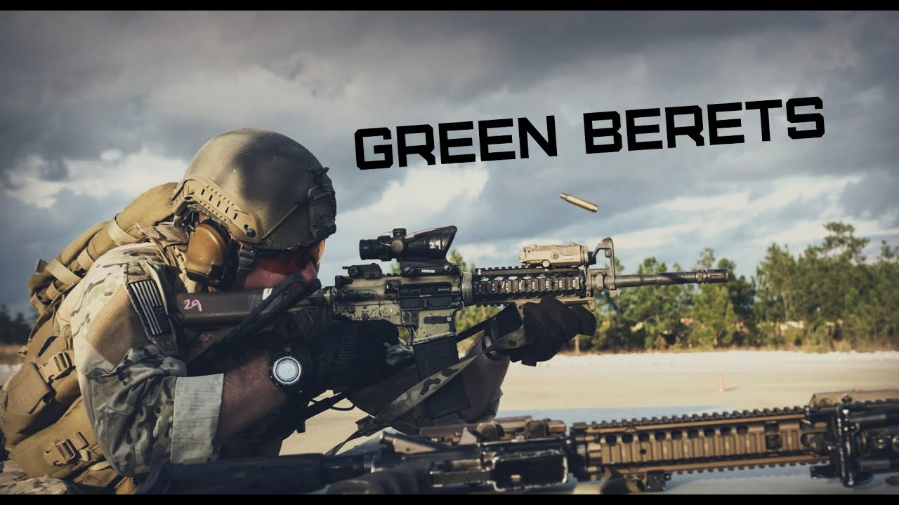 Green Beret Special Forces