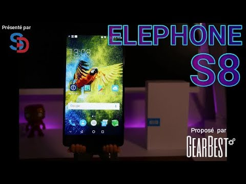 ELEPHONE S8 - Le Test en Français - PHOTO, SON, GAMING - Test Complet